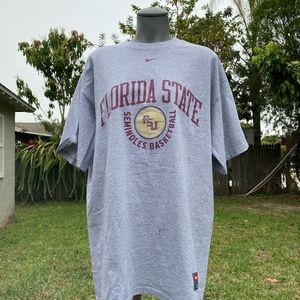 Nike Florida State Basketball Shirt Size L NWT